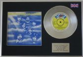 "ELECTRIC LIGHT ORCHESTRA  -  MR BLUE SKY  -  7"" Platinum Disc + cover"